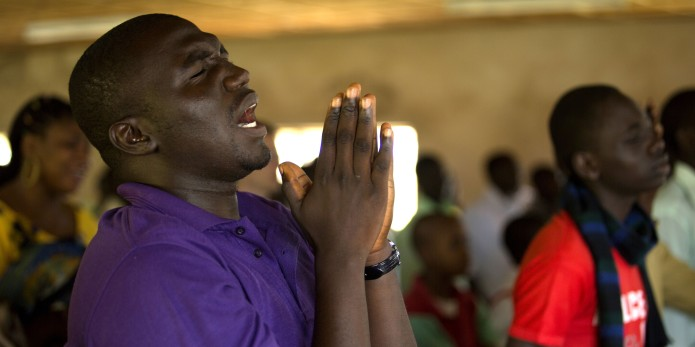 Christian Man in Nigeria