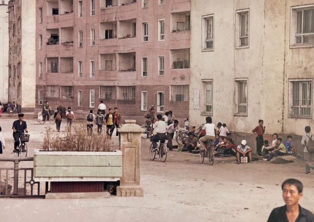 North Korea - street scenes