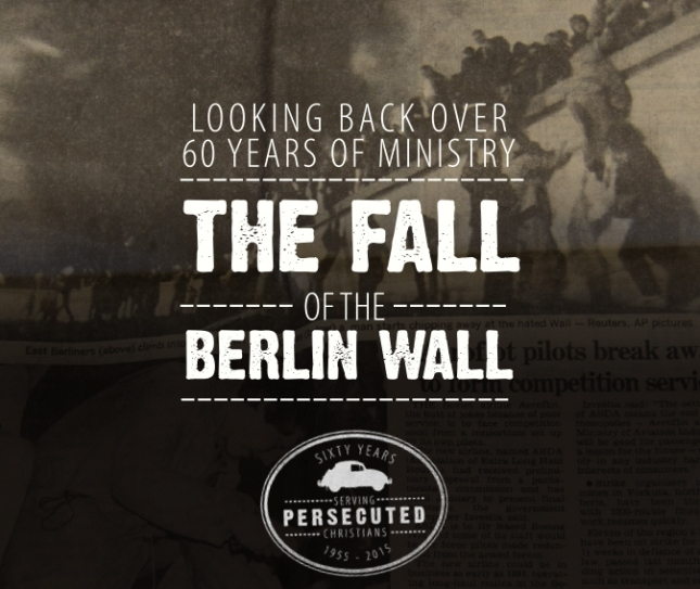 Looking Back Over 60 Years of Ministry: Berlin Wall