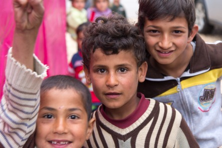 Three Syrian Refugees
