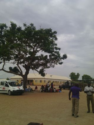 The camp in Yola State