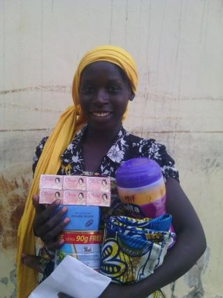 Women in Nigeria receive aid from Open Doors