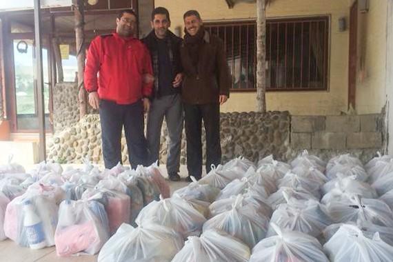 Food Packs in Syria