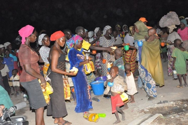 Nigeria - Women and children rescued from Boko Haram