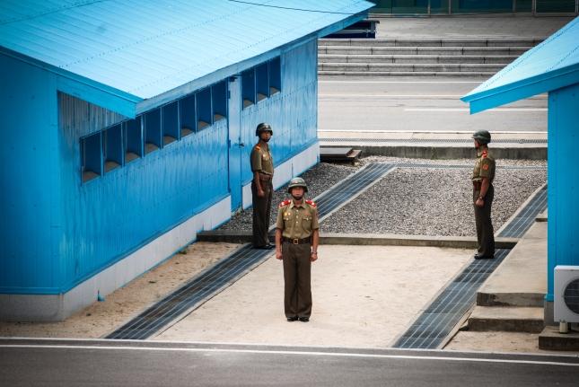 North Korea's border with South Korea