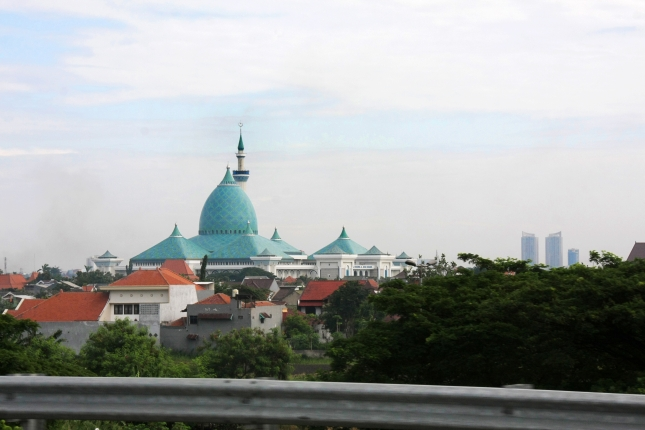 A Mosque in Indonesia.