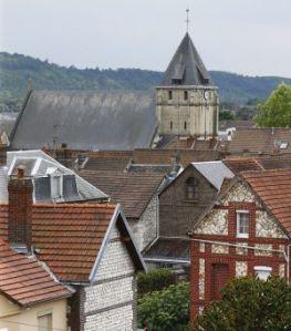 The church in Saint-Etienne-du-Rouvray. Photo: AP