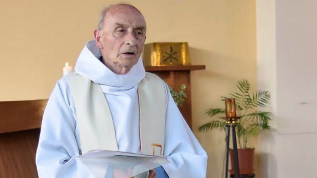 Father Jacques Hamel. Source: AFP