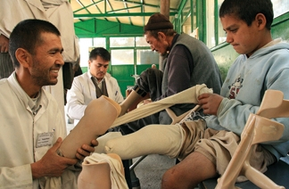 Said Musa, an orthopedic therapist was arrested in 2010 for converting to Christianity. Image: 2009