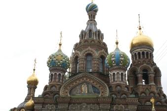 A church in Russia.