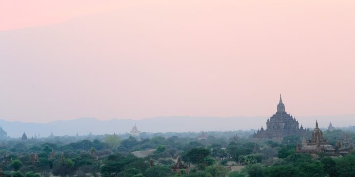 Temple in Myanmar.