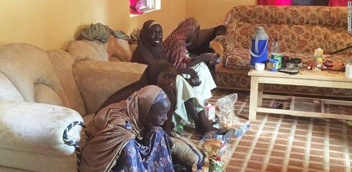 Chibok Girls Freed. IMAGE: CNN