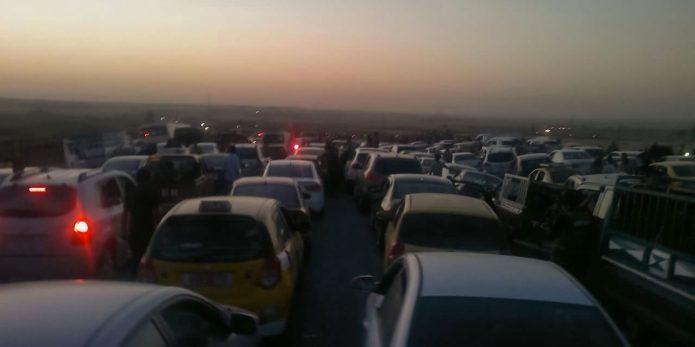 Leaving Mosul