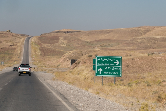 Road to Mosul.