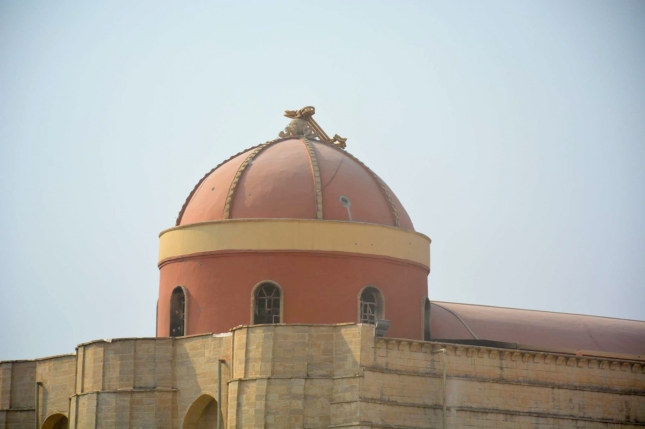The Cross taken down from Tahira church, Qaraqosh.
